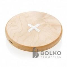 5W-os vezeték nélküli töltő fából