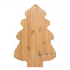 Karácsonyfa bambusz vágódeszka