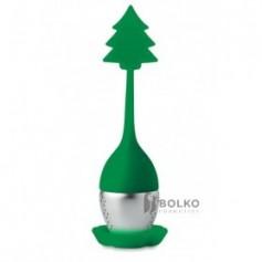 Teatojás karácsonyfa motívummal
