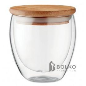 Kis méretű duplafalú pohár
