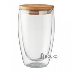 Nagy méretű duplafalú pohár