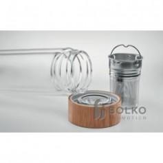 Duplafalú hőálló palack