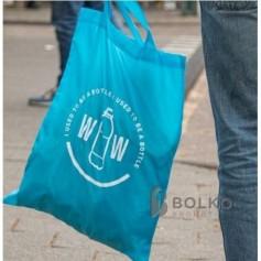 Bevásárlótáska újrahaznosított műanyagból