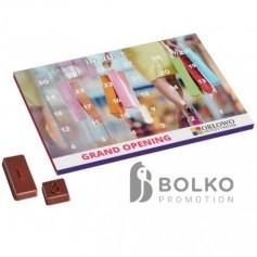 Adventi kalendárium 31 db csokoládéval