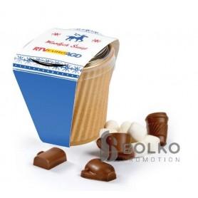 Forró csokoládé papír pohárban