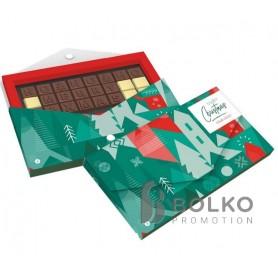Személyes üzenet csokoládé betűkkel