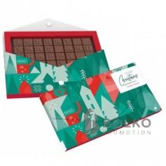 Csokoládés üzenet 4 sorban