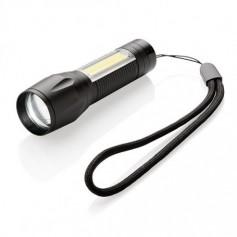 3W-os LED zseblámpa COB-vel
