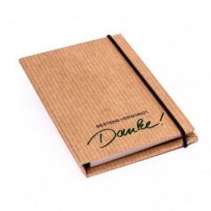Újrahasznosított anyagból készülj jegyzetfüzet