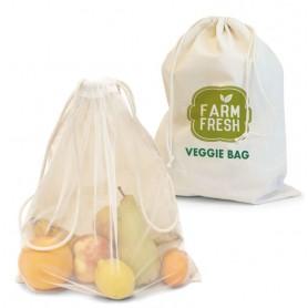 Környezetbarát hálós táska