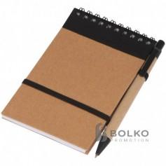 Felíró füzet tollal