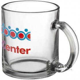 Üveg kávés pohár