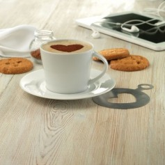 Porcelán cappuccino csésze