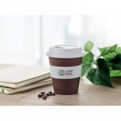 Ivópohár kávébab-héjból
