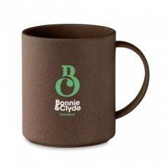 Kávébab-héjból készült bögre