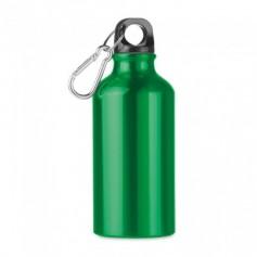 Alumínium szimplafalú palack karabinerrel