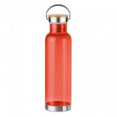 Újrahasznosított anyagból készült palack