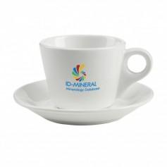 Kerámia kávés csésze aljjal