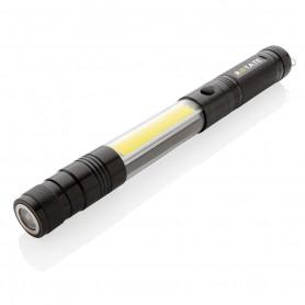 COB LED mágneses zseblámpa
