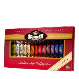 Szaloncukor-válogatás 15 féle ízben (Stühmer)