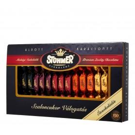Étcsokoládés szaloncukor-válogatás 5 féle ízben (Stühmer)