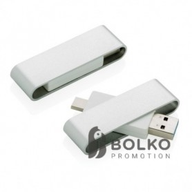 Pivot USB C típussal, szürke