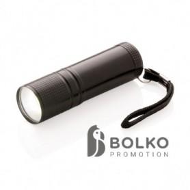 COB lámpa, fekete
