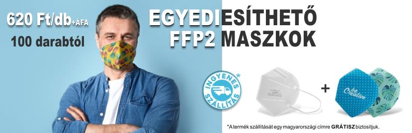 egyedi ffp2 maszk