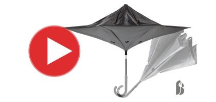 Kifordítható esernyő