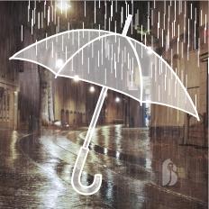 Végre esik az eső - elő az emblémázott esernyőkkel!