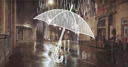 Emblémázott esernyő