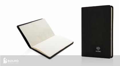 Jegyzetfüzet világító logóval