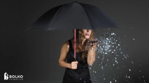 LED-lámpás esernyő